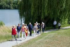 nach langer Coronapause, Juventa wandert um den Vienenburger See